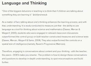language thinking